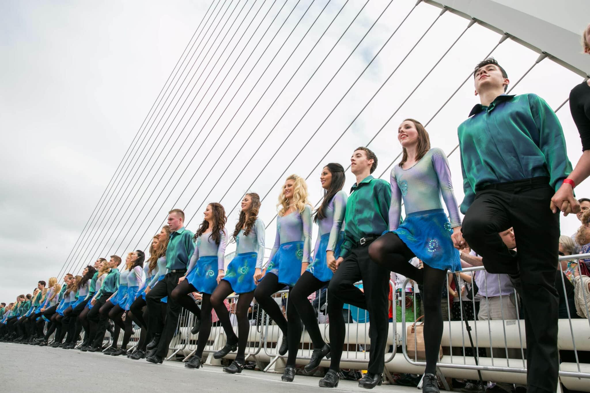 Riverdance The Gathering World Record Dublin-12