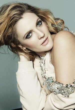 Drew Barrymore in Marie Claire