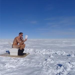 Alexander Skarsgard Naked in Antarctica
