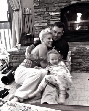 Pink and Carey Hart's Happy New Year Family Moment