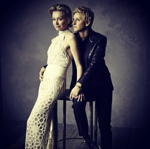 Vanity Fair Oscars Portraits: Portia and Ellen