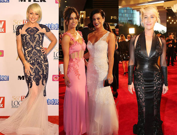 Logies 2014 Red Carpet Fashions