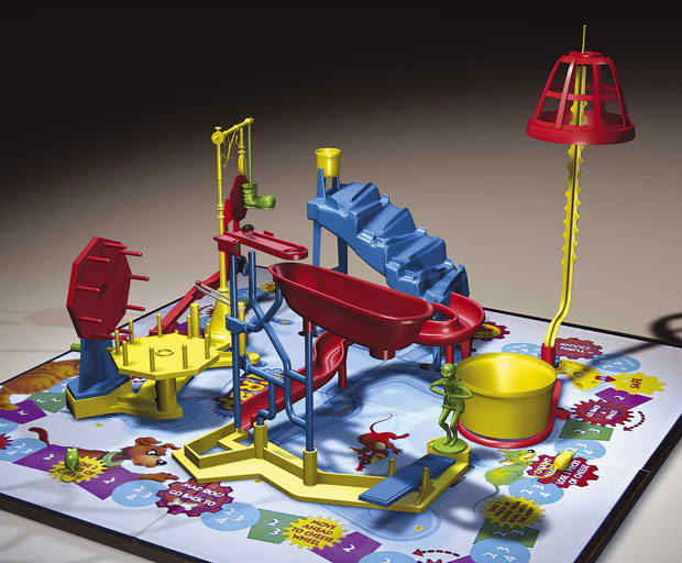 children's entertainment, games, Mouse Trap, school holidays, parenting
