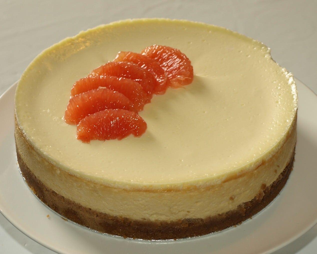 grapefruit cheesecake, cheesecake recipe, dessert, dessert recipe, cake