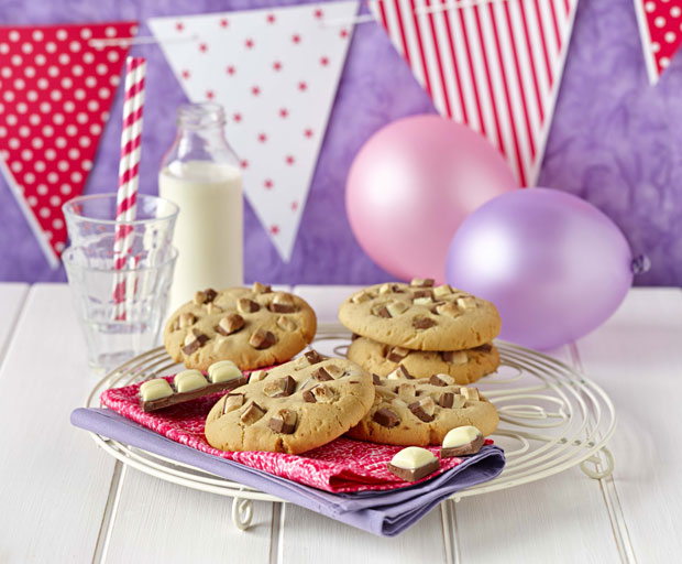 dessert, dessert recipes, cookies, Cadbury, Cadbury Top Deck, chocolate