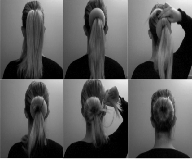 beauty, office, hairstyles, work, long hair, donut bun