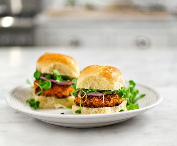 Recipe: Sweet potato and tofu burger