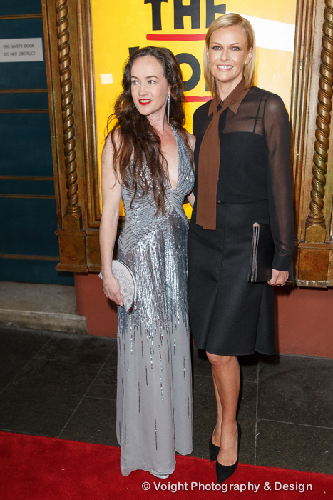 Lucinda Dunn and Sarah Murdoch