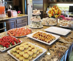 Plan A Healthy Menu For Your Baby Shower