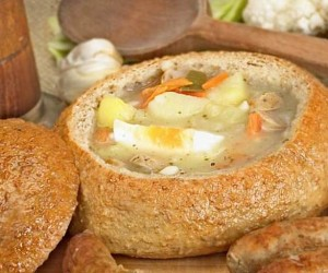 Recipe: zurek or Polish ryemeal soup