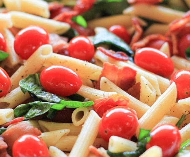 Easy BLT Pasta Recipe