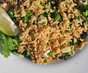 mixed bean salad, brown rice, low GI, salad, salad recipes, healthy dinner recipes