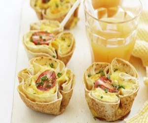 Healthy Tomato And Bacon Breakfast Quiches