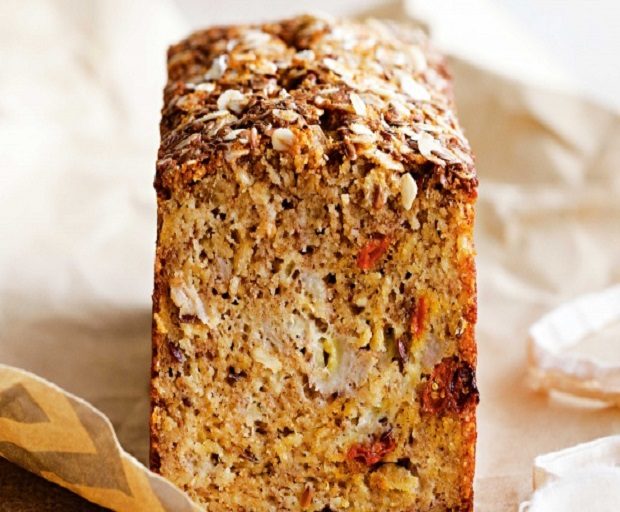 HEALTHY DIET – Banana, Coconut And Goji Berry Bread