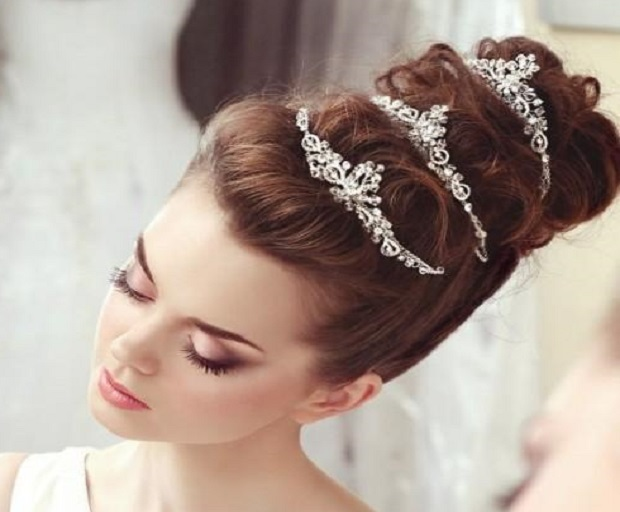 Bridal Hairstyles With Tiaras She Said United States