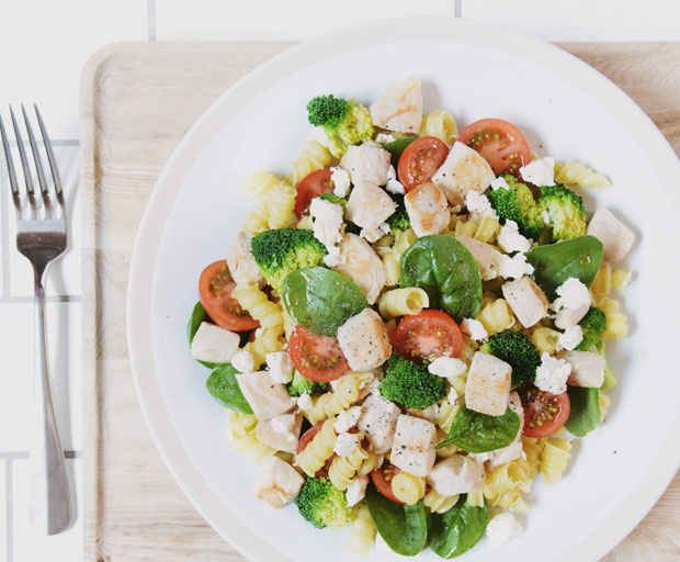 Mediterranean rollini, pasta, pasta recipe, quick and easy dinners