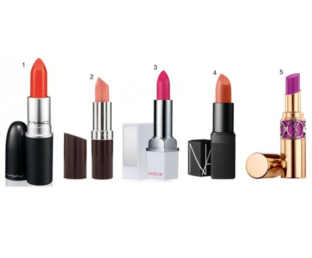 5 Lipstick Shades For Summer