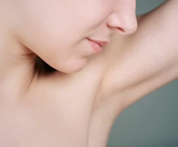 Natural Underarm Whitening Scrub