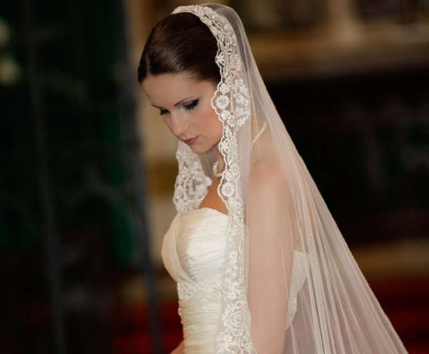 Bridal Hairstyles With Long Veils She Said United States