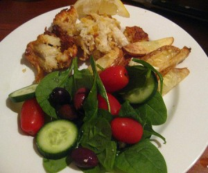fish and chips, dinner, dinner recipes, easy dinner idea, quick dinner idea, Philips Airfryer