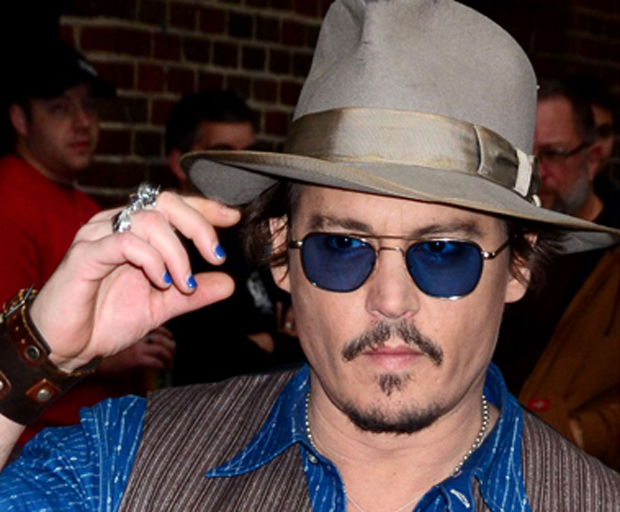 manicure, male nail art, johnny depp