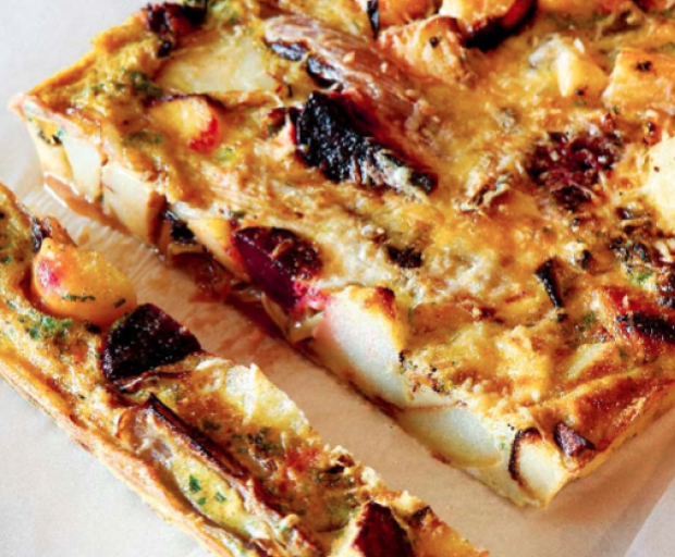 Oven-Roasted Roots Frittata Recipe