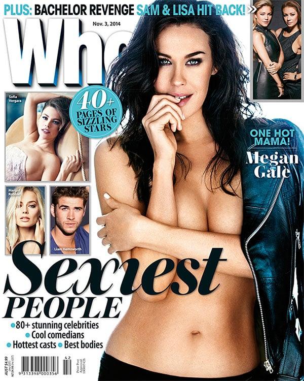 Megan Gale, WHO magazine