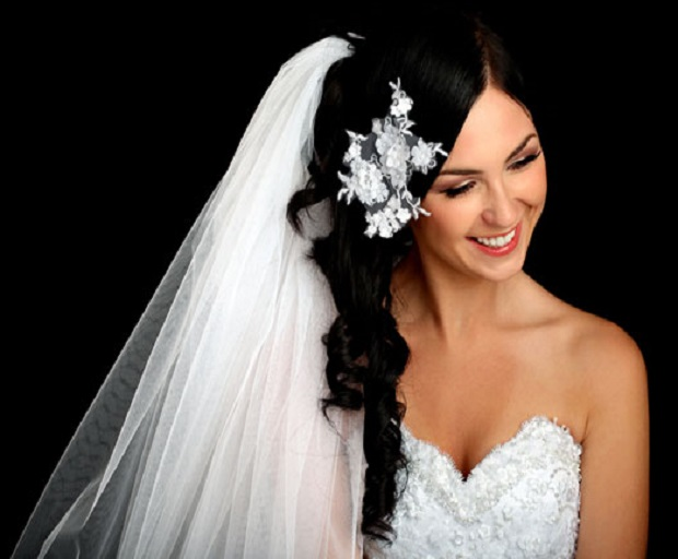 Bridal Hairstyles With Long Veils