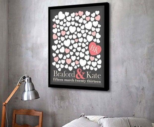 3 Personalised Wedding Gift Ideas