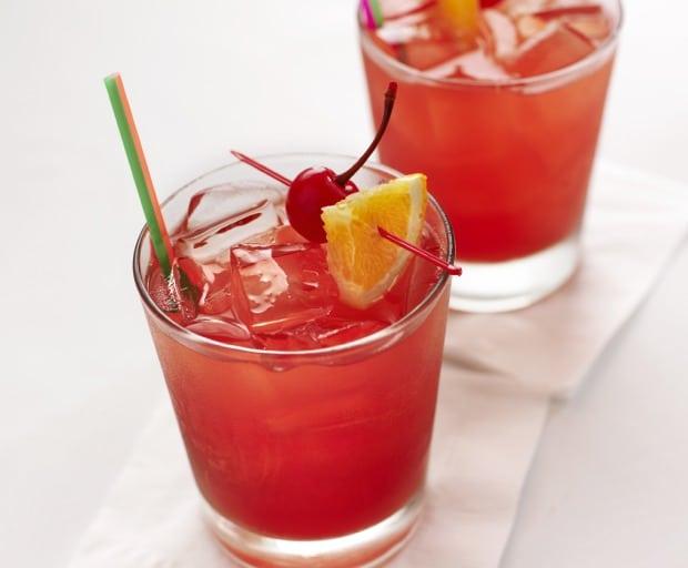 Vodka Strawberry Lemonade Cocktails