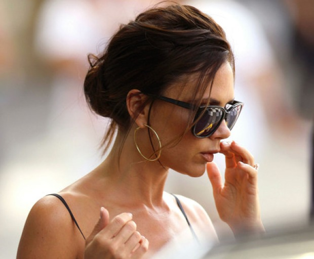 Get The Look - Victoria Beckham's Updo
