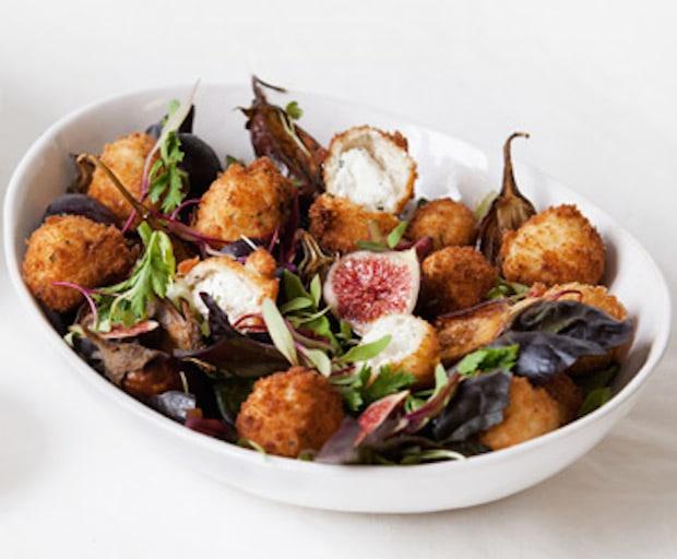 Crispy Goats Cheese Salad Recipe