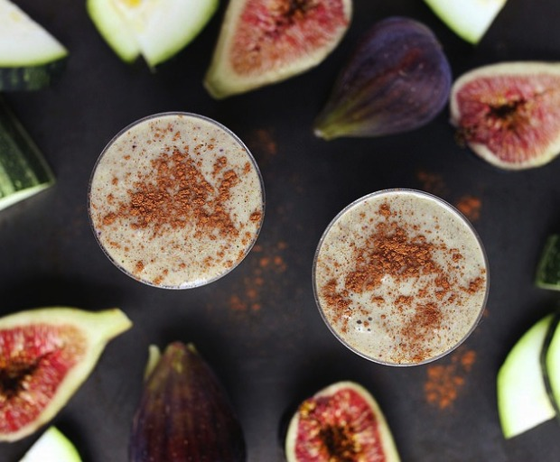 Zucchini Fig Smoothie