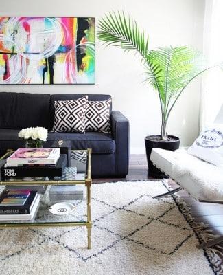 38-Erika-Brechtel-for-Adore-Home-photo-by-Sabra-Lattos-living-room-beni-ourain-David-Hicks-Jonathan-Adler-coffee-table