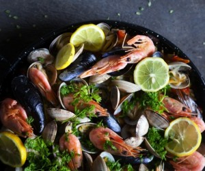 Healthy Seafood Paella Recipe