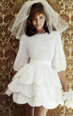 1960's Inspired Wedding Dresses