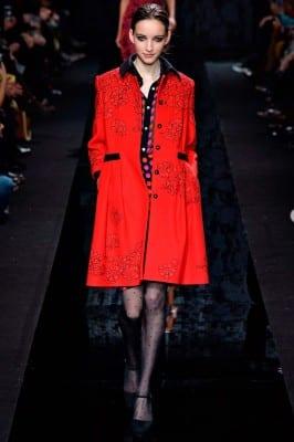 Diane von Furstenberg fashion show