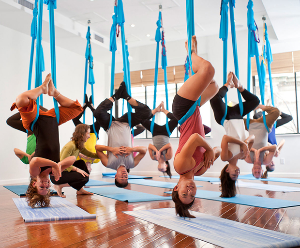 Fitness, Exercise Routine, Aerial Yoga, Barrelates, Paddle Boarding, Rock Climbing, Flying Trapeze, Hula Hoop