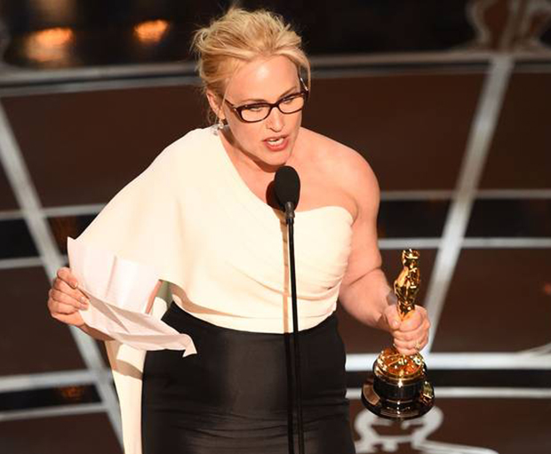Patricia Arquette, 2015 Oscar Awards, Acceptance Speech, Feminism, Equal Pay, Women's Rights