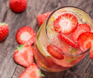 Strawberry Cocktail Recipe, Vodka, Summer, TGIF