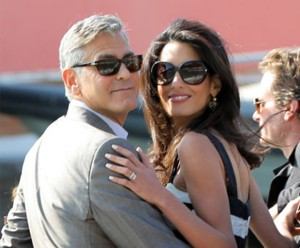George Clooney, Amal Clooney, married, Inspirational Women, Venice, love