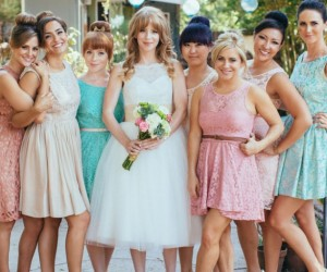 60's Inspired Wedding Dresses