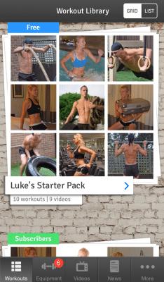 workout app, luke heath, hiit workouts