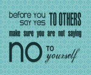 assertiveness, self-improvement, saying no