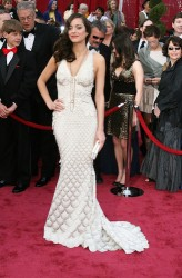 Marion Cotillard Oscars white dress