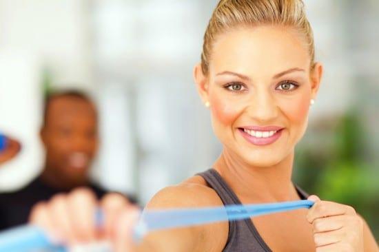 exercising, makeup, gym,