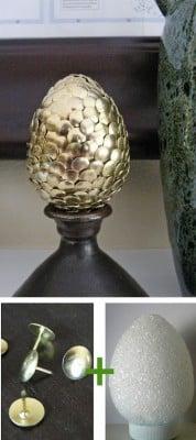easter egg gold