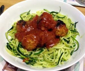 Healthy Courgette Spaghetti Recipe