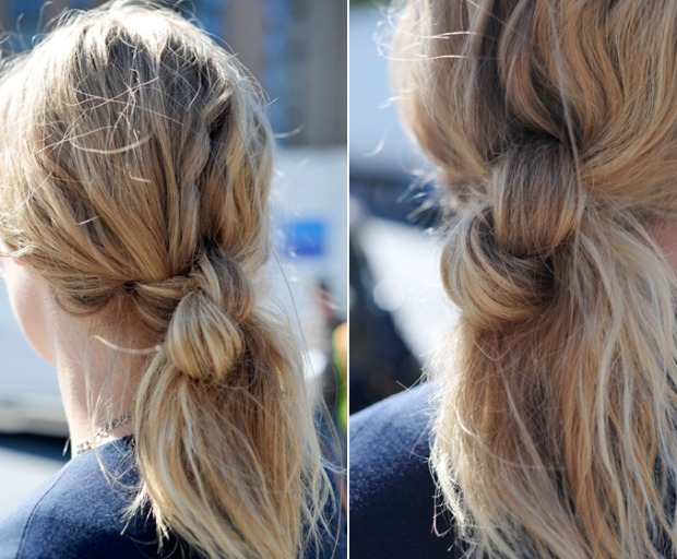How To - The Deliberate Hair Knot