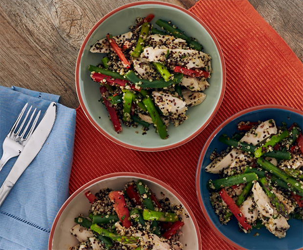 Chicken recipes, Quinoa Recipes, Salad, My Food Bag, Zoey Bingley-Pullin, Healthy